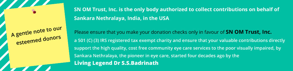 Eye Hospital, Eye Care, LASIK, Chennai, India, Charitable, Best Eye